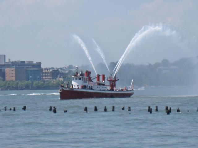 Fireboat John J Harvey