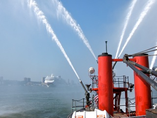 Fireboat John J. Harvey, 2013