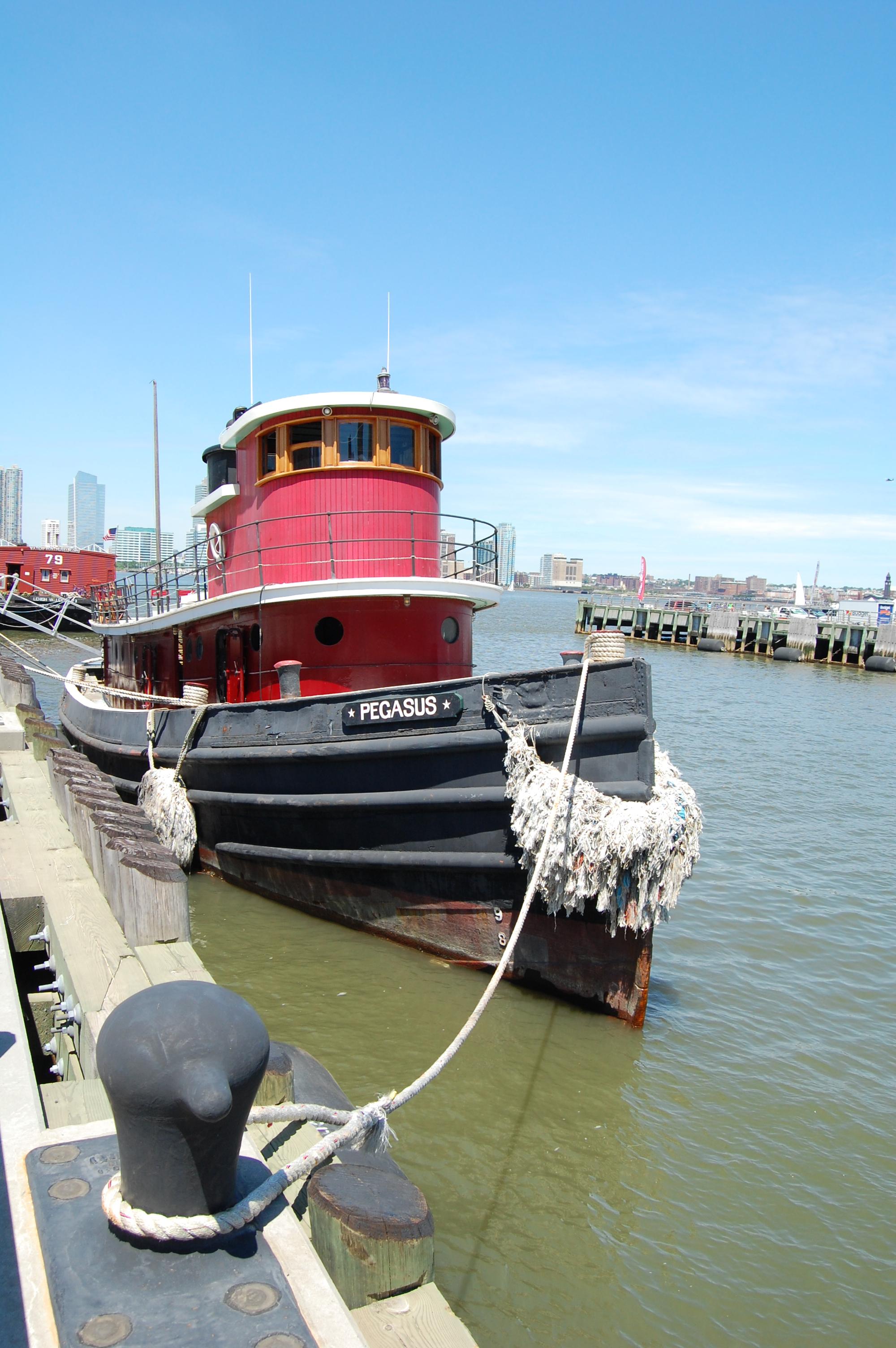 Tugboat Pegasus at Dock, 2014, Photo by Paul Demonte