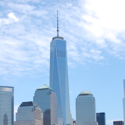 Dramatic Backdrop of the Freedom Tower, 2014, Photo by Paul Demonte