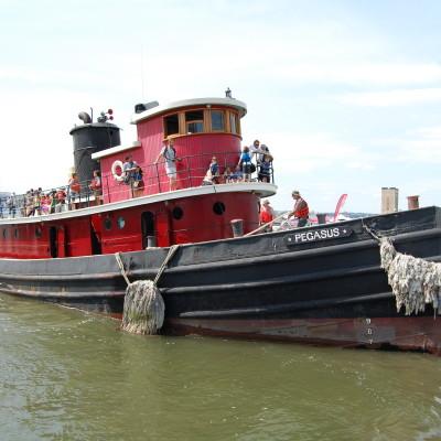 Tugboat Pegasus, 2014, Photo by Paul Demonte
