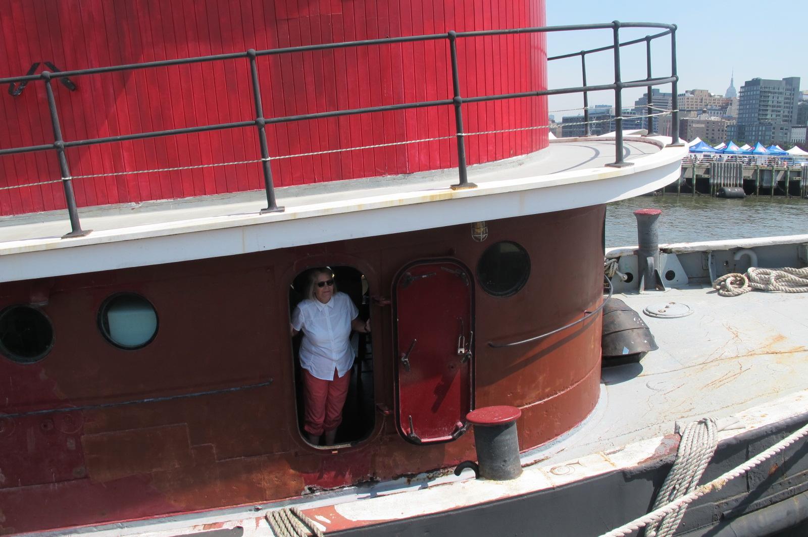 Captain Pamela Hepburn, 2014