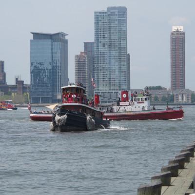 Tugboat Pegasus to Dock at Pier 25, 2014