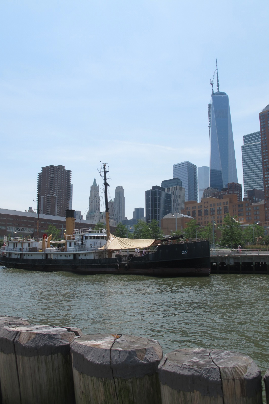 Ship with Freedom Tower, 2014