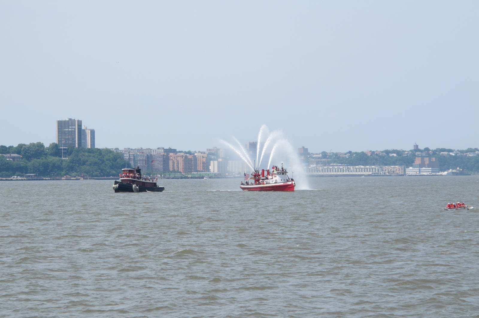 Fireboat John J Harvey & Tugboat Pegusus, 2014
